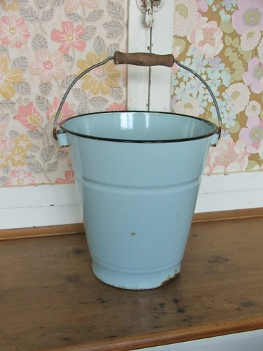 Old Enamel Bucket