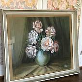 Pretty Vintage Floral Picture/Print