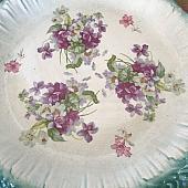 Vintage Bread/Cake Plate