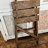 Vintage Wooden Step Stool