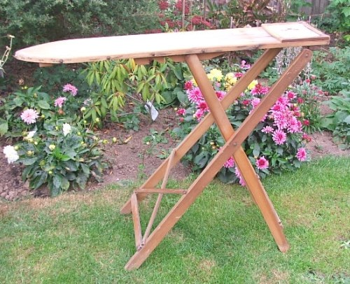 Vintage Wooden Ironing Board