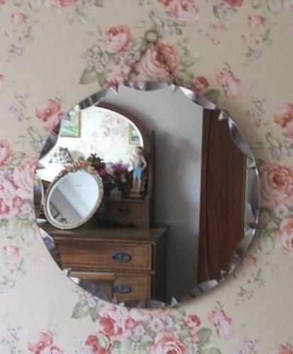 Retro Circular Mirror
