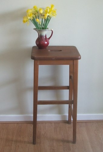 Tall Wooden Stool