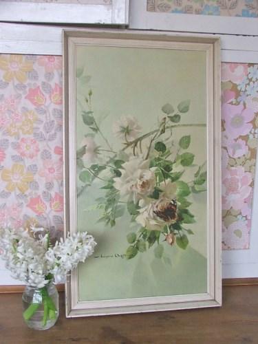 'Decor for a Rose' Vernon Ward Print