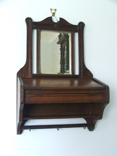 Wooden Hall Mirror