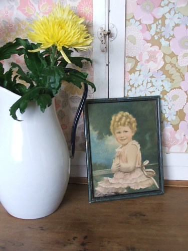 Vintage Elizabeth II Child Picture