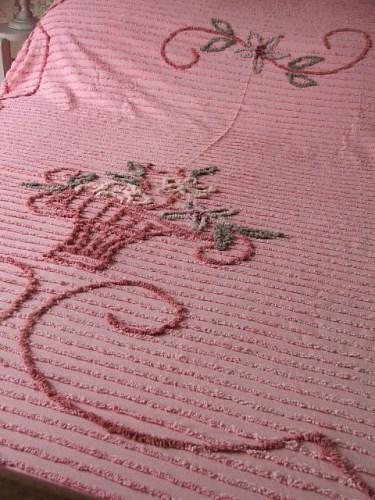 Vintage Candlewick Bedspread