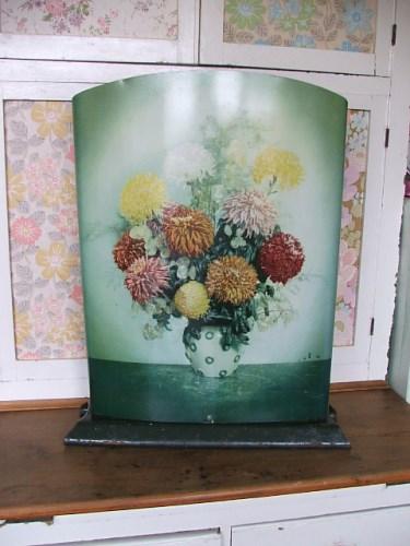 Worcester Ware Floral Firescreen