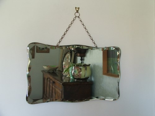 Retro Wall Mirror
