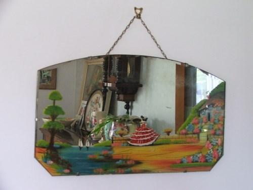 Vintage Crinoline Lady Mirror