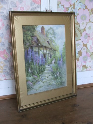 Old Cottage Garden Picture