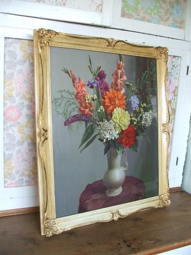 Gorgeous Vintage Floral Print