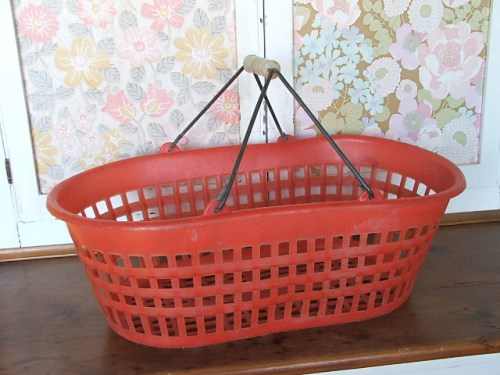 Red Retro Basket