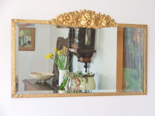 Vintage Gold Wall Mirror