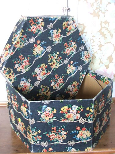 Vintage Hat Box a