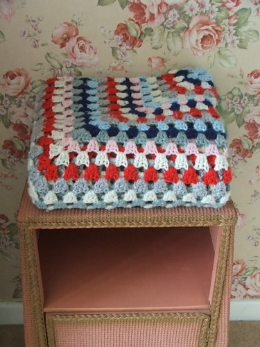 Lovely Crochet Blanket or Throw