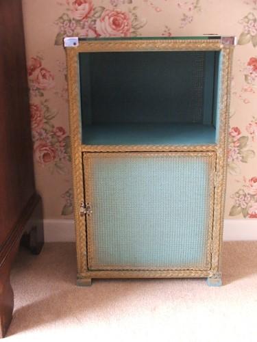 Wicker Bedside Cabinet