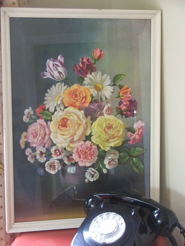Lovely Floral Print by Wilf Walker