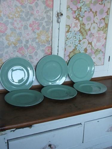 Woods Ware 'Beryl' Plates
