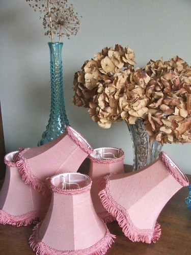 Pretty Pink Lampshades