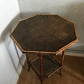 Old Vintage Bamboo Table