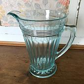 Lovely Blue Glass Jug/Vase