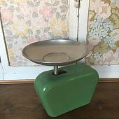 Vintage Green Kitchen Scales